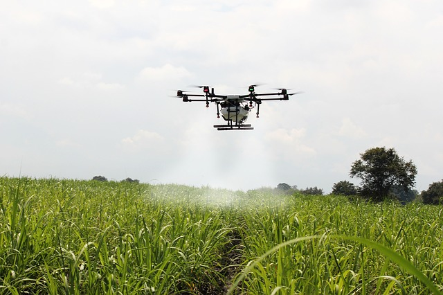 drones impulsan el desarrollo social en la agricultura
