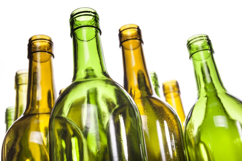 reutilizar las botellas de vino sustentabilidad