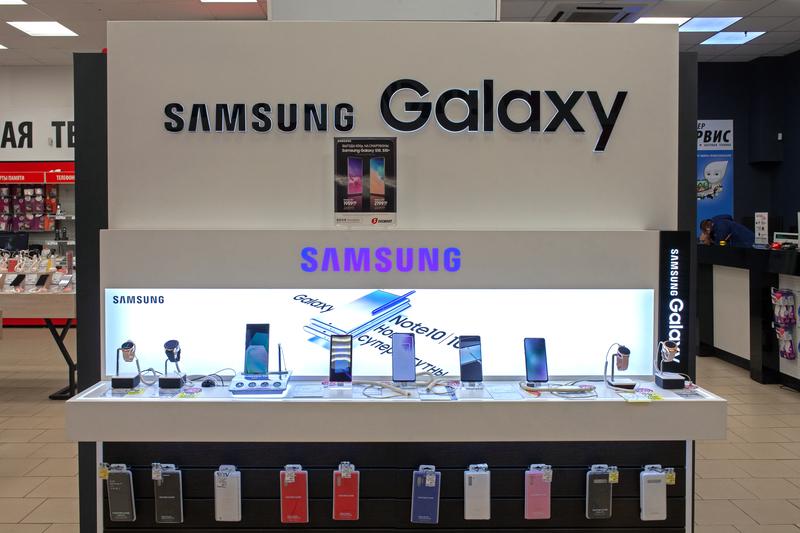Samsung libre de plástico