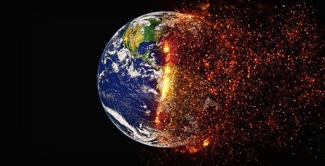 causa del cambio climático y calentamiento global