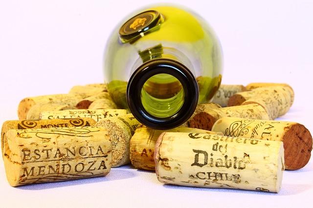 reutilizar las botellas de vino