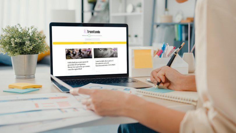 Tramitando.mx es una web que ofrece un caudal de información casi sobre cualquier trámite legal en México