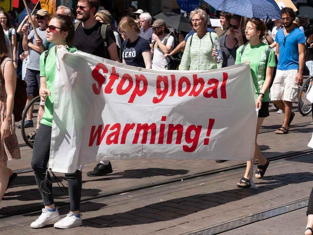 futuro de la niñez alto al cambio climático